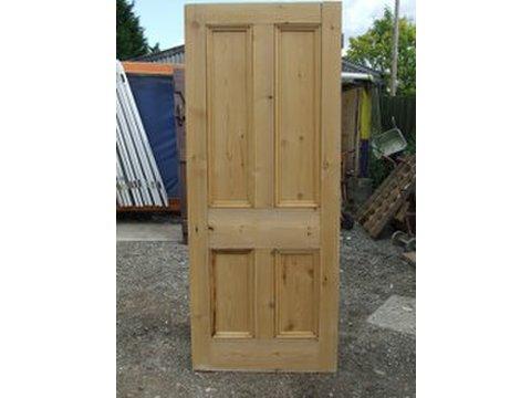 Charming Four Panel Victorian Doors