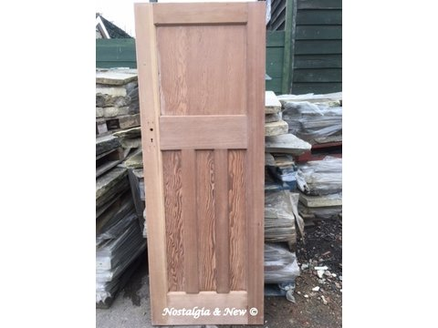 1 Over 3 Panel 1920   1930 Internal Pine Doors