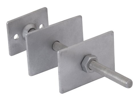 Rear Mounted Square Plate Wall Stay