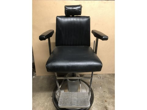 Retro barbers chair