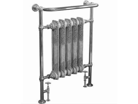 Wilford towel rail chrome finish