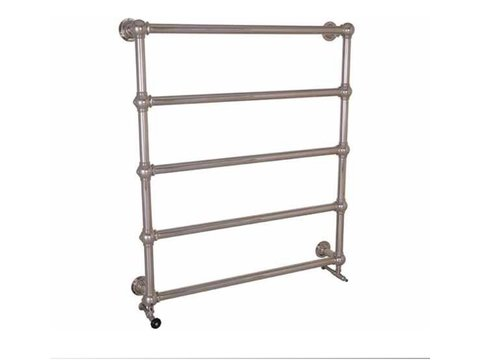 Carron Large Colossus 5 Bar Nickel Wall Mounted Towel Rail