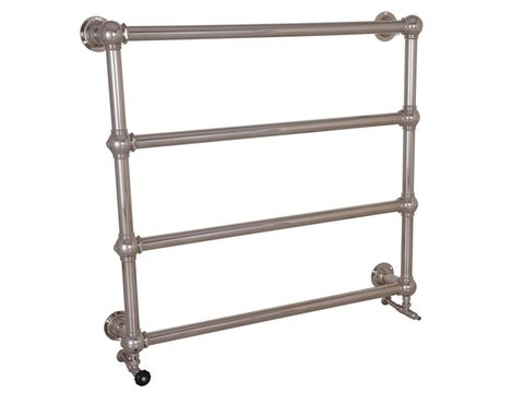 Colossus 4 Bar Nickel Wall Mounted Towel Rail