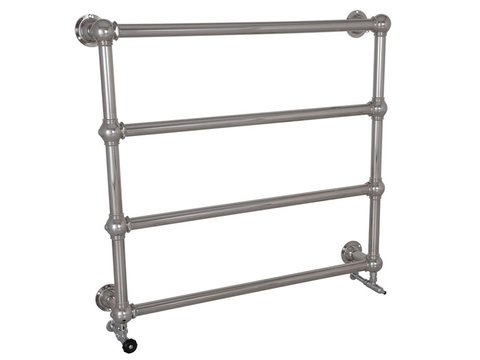 Colossus 4 Bar chrome Wall Mounted Towel Rail