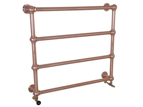 Colossus 4 Bar copper Wall Mounted Towel Rail