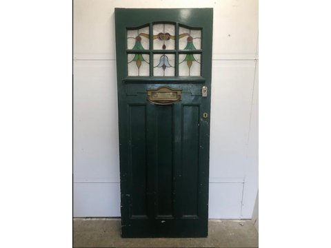 Reclaimed Period Front Doors Nostalgia And New