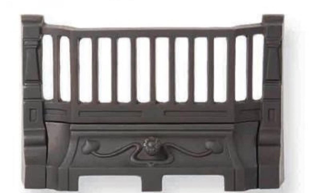 14u0027u0027 Art Nouveau Style Cast Iron Fire Bars £110.00